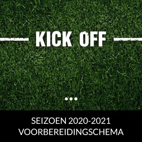 VOORBEREIDINGSSCHEMA 2020 - 2021 AANPASSING !!!