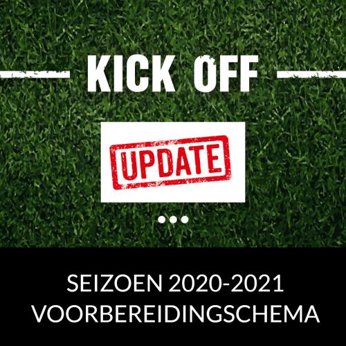 VOORBEREIDINGSSCHEMA 2020 - 2021 UPDATE